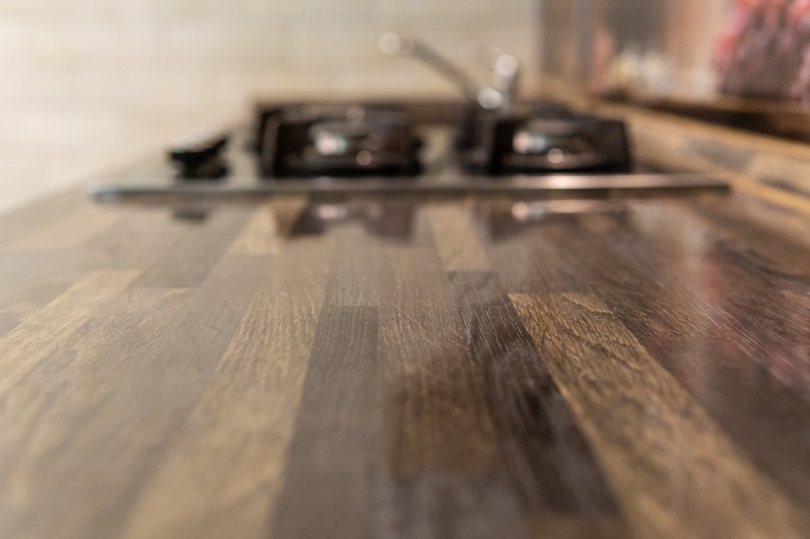 Бежевые кухни-Кухня из пластика «Модель 2»-фото9
