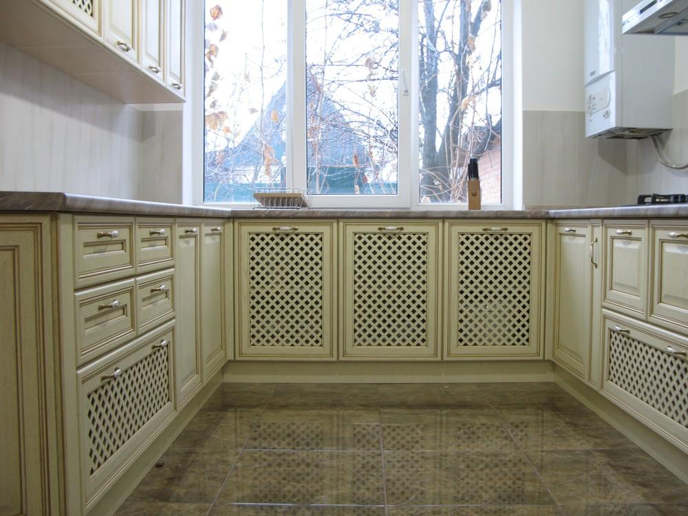 Белый кухонный гарнитур-Кухня МДФ в ПВХ «Модель 273»-фото4