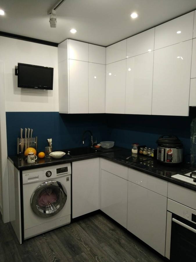 Белый кухонный гарнитур-Кухня «Модель 476»-фото4