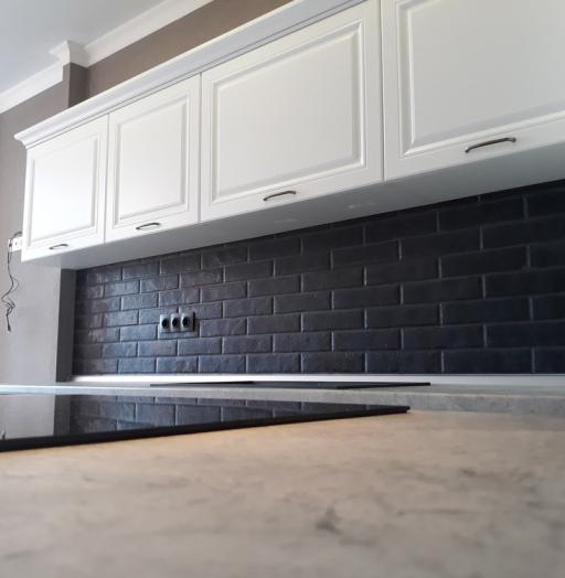 Белый кухонный гарнитур-Кухня МДФ в ПВХ «Модель 280»-фото9