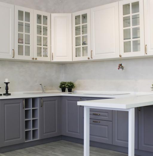 -Кухня МДФ в ПВХ «Модель 282»-фото9