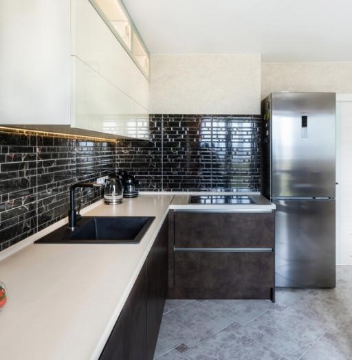 -Кухня из акрила «Модель 412»-фото28