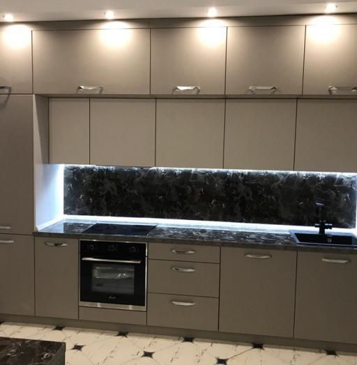 -Кухня МДФ в эмали «Модель 418»-фото30