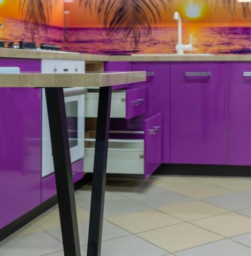 -Кухня МДФ в ПВХ «Модель 45»-фото9