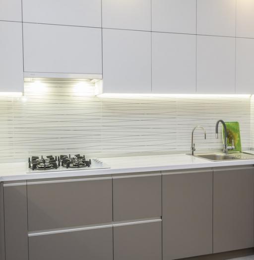 -Кухня МДФ в ПВХ «Модель 9»-фото2