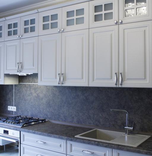 -Кухня МДФ в ПВХ «Модель 147»-фото13