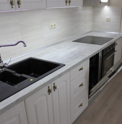 -Кухня из пластика «Модель 185»-фото26