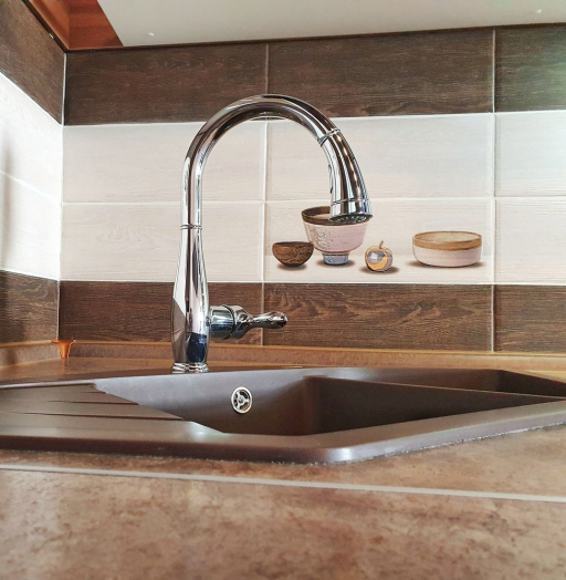 Белый кухонный гарнитур-Кухня МДФ в эмали «Модель 537»-фото10